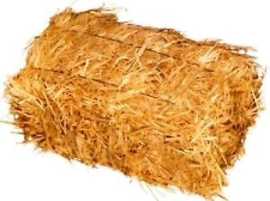 decorating for Halloween with straw bales?   I'll re-use them.