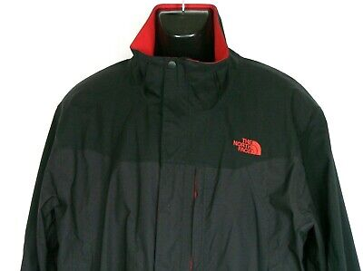 The North Face Mens Athlete Jacket Sz XXL Black Red Apex Bionic Climber Style   (Mens Face Style)