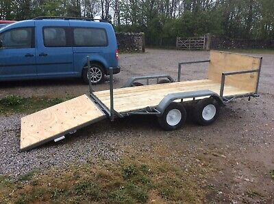 Flatbed Car Trailer