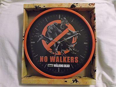 The Walking Dead Wall Clock.  No Walkers