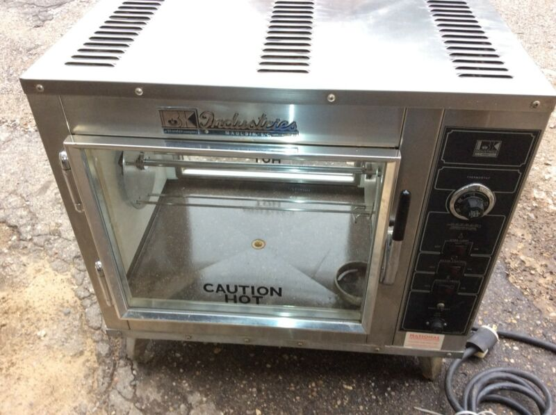 Chicken Rotisserie, BK Industries, 115v Electric Countertop, Cooks 16 Chickens