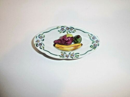 Peint Main Limoges Trinket-Fruit Platter