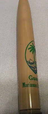 Vtg Sheaffer Fountain Pen Fine Line Advertising Guam Marianas Islands
