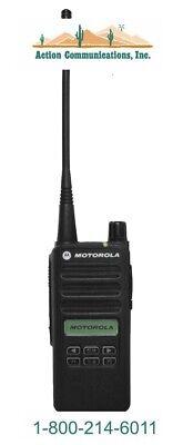 New Motorola Cp100d Display - Vhf 136-174 Mhz 5 Watt 160 Ch Handheld Radio