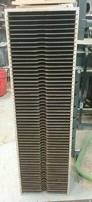 "Scrapbooking Paper Storage 12"" X 12"" tower 58 openings   cardstock"