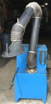 Donaldson Torit Porta-trunk Pt1000 Dustfume Exhauster.115250v 3450rpm 1.5hp