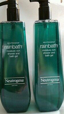 2 Neutrogena Rainbath Moisture Rich Shower and Bath Gel 40oz FREE SHIPPING!