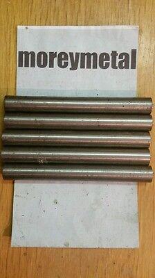 5 Pieces Titanium Rodround Bar 916 Diam. 4.75 Long Cp Grade 2 Xrf Verified