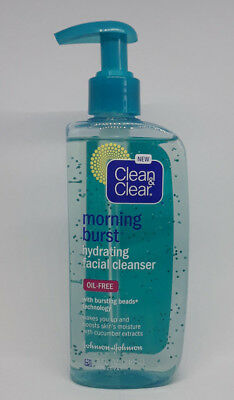 CLEAN - CLEAR Morning Burst Oil-Free Hydrating Facial Cleanser, 8 oz - Hydrating Oil Free Cleanser