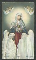 Estampa Antigua De La Virgen Andachtsbild Santino Holy Card Santini -  - ebay.es