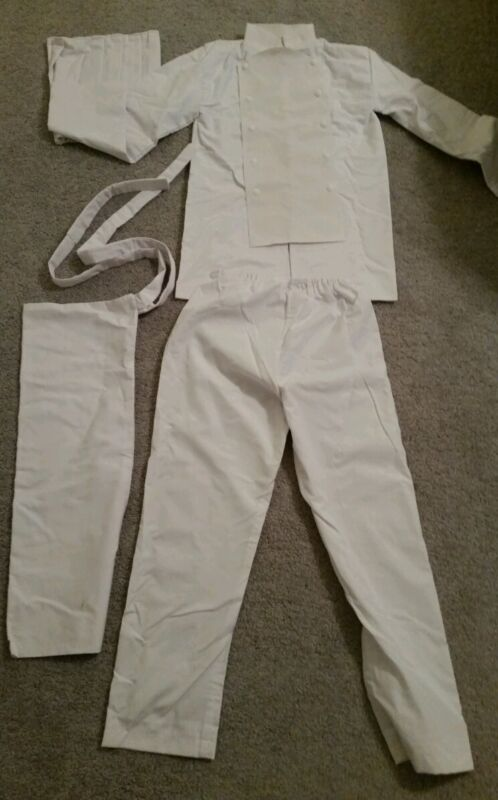 Chef Baker Waiter costume cosplay set Working Wagnaria Chobits Food Wars