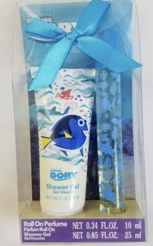 NEW Disney Finding Dory Roll On Perfume and Shower Gel 2 pc