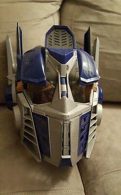 Transformers Optimus Prime Talking Helmet Mask Robot 2006 Halloween Costume *WoW](Optimus Prime Halloween Mask)
