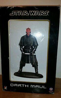 Star Wars Darth Maul Statue 2005 Attakus Bombyx Japanese Limited Import 026/200