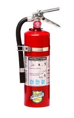 Buckeye Fire Extinguisher Wvehicle Bracket -coast Guard -dot Approved-2019