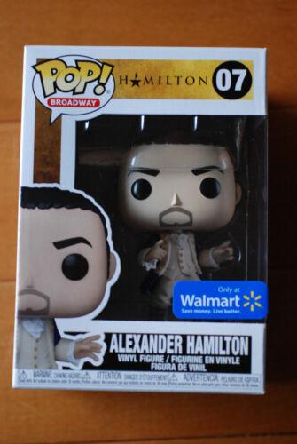 Funko pop Alexander Hamilton #07 Walmart exclusive (please read)