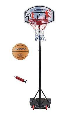 Basketballständer incl. Ball & Pumpe Hudora All Stars Basketballkorb