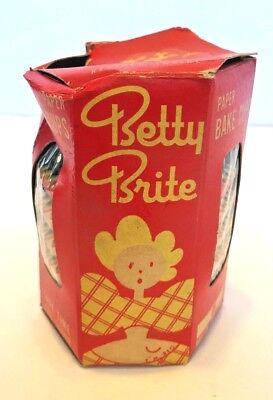 Vintage Betty Brite Bake Cups Paper Kitchen Collectibles  1950's?](Betty Brite)