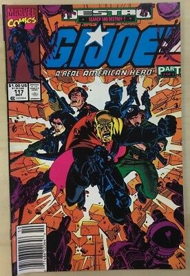 G.I. JOE #117 (1991) Marvel Comics VG+/FINE-
