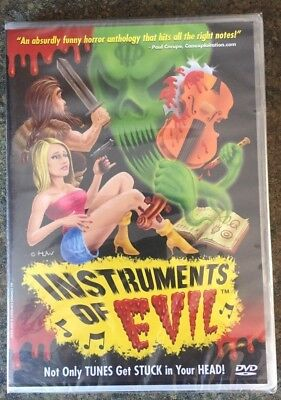 ** Instruments of Evil, DVD, brand new, factory sealed! B-Rate Horror! (B Rated Horror Movies)