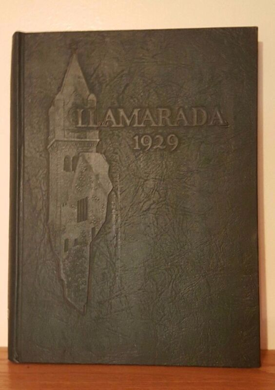 1929 Llamarada,The Mount Holyoke College Yearbook South Hadley Massachusetts