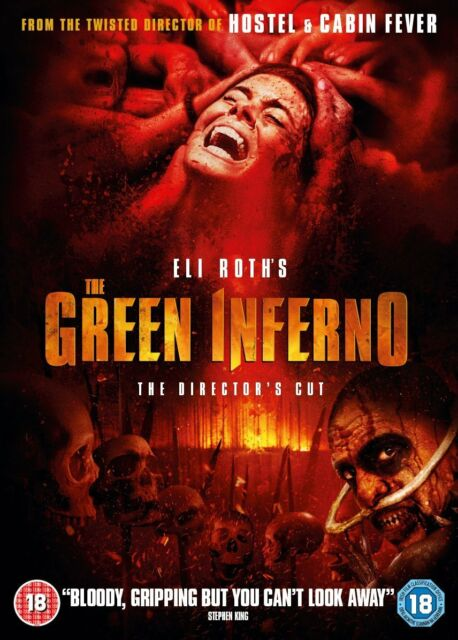 The Green Inferno DVD ([horror)