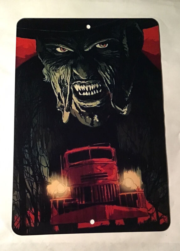 JEEPERS CREEPERS ALUMINUM METAL SIGN HORROR