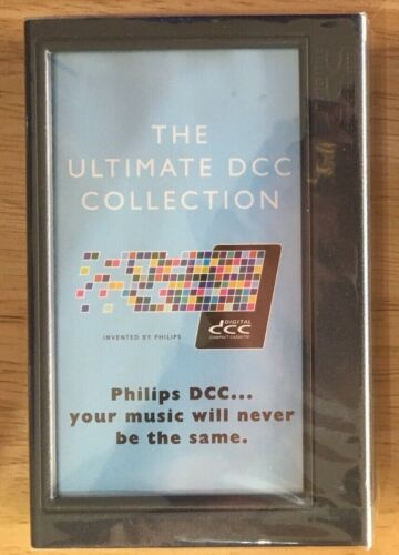 The Ultimate DCC Collection Compact Cassette Open but new