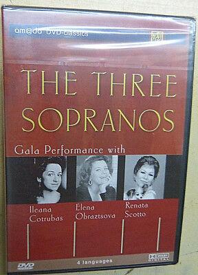 Dvd : The three Sopranos