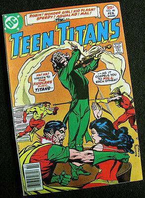 TEEN TITANS 46 (1977) JOKER'S DAUGHTER! FIDDLER! HIGH GRADE BOOK! LARGE - Joker Teen