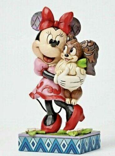 RARE Jim Shore Disney Minnie Mouse Fifi Dog Pet FURREVER FRIENDS 4048657 NIB