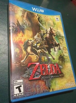 The Legend of Zelda: Twilight Princess HD NINTENDO WII U NEW SEALED Game only