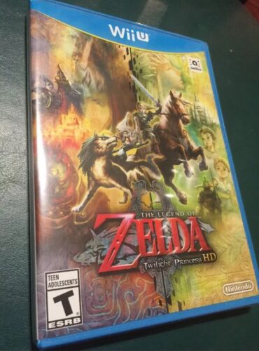 The Legend of Zelda: Twilight Princess HD NINTENDO WII U NEW SEALED Game only