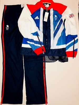 Adidas Team GB Presentation Tracksuit London 2012 Official Olympics WOMEN UK 18L
