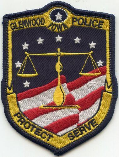 GLENWOOD IOWA IA Protect Serve POLICE PATCH