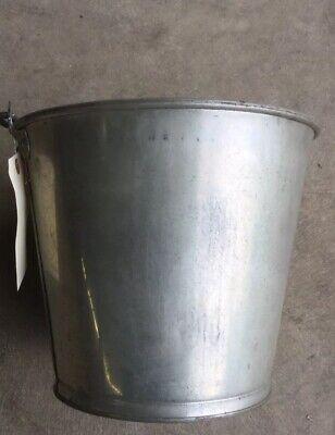 Vintage Stainless Steel Milk Bucket