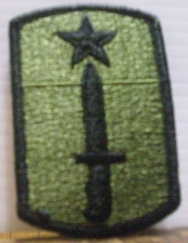 U.S. Army 205th Infantry Brigade Embroidered Patch