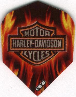 3 per set Harley Davidson Pink Cross Dart Flights