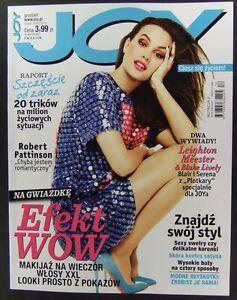 LEIGHTON MEESTER mag.FRONT cover Blake Lively, Ashton Kutcher,Robert Pattinson - europe, Polska - Zwroty są przyjmowane - europe, Polska