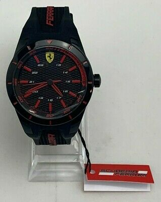 Scuderia Ferrari 0830245 Red Rev Sport Analog Classic Display Quartz Watch