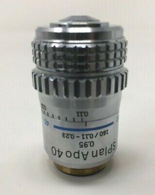 Olympus Microscope Splan Apo 40x 0.95 1600.11-0.23 Objective