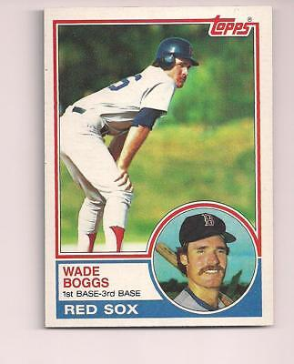 1983 T #498 Wade Boggs Rookie Card for sale  Santa Maria