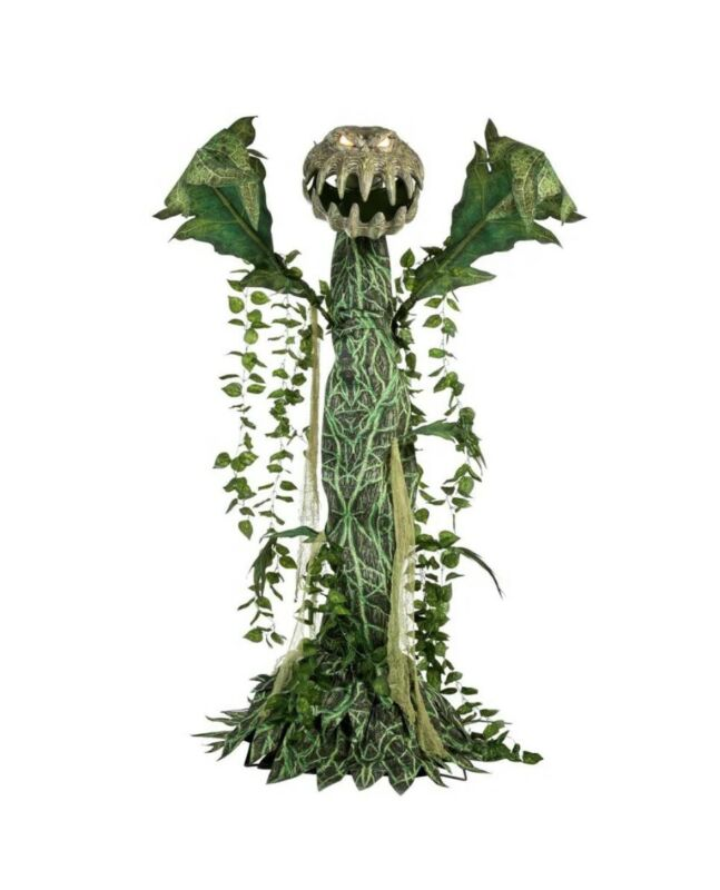 Home Accents 6 ft ANIMATED LED Man-Eating Plant