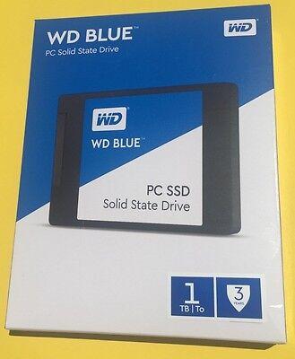 """WD Western Digital Blue 1TB SSD Solid State Drive SATA 6Gb/s 2.5"""" WDS100T1B0A"""
