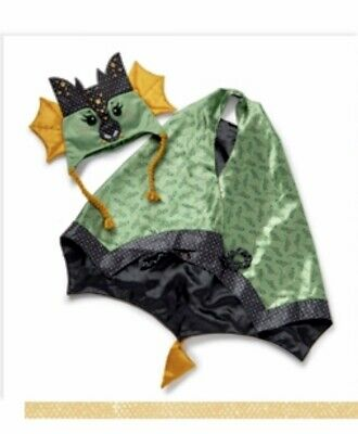Matilda Jane DRAGON RIDER Costume Medium Cape Hat - Dragon Girl Halloween Kostüm