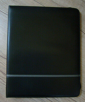 Business Planner Padfolio Zippered Writing Pad Office Portfolio Organizer