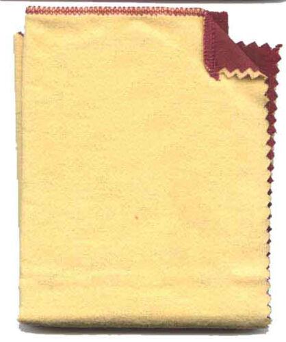 "JSP® PROFESSIONAL JEWELERS Rouge Polishing Cloth 14""x11.5"" 2 PART (ps203)"