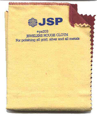 "Jewelry Polishing Cloth 11""x10"" Double Side Jeweler Silver Gold Rouge(ps203)"