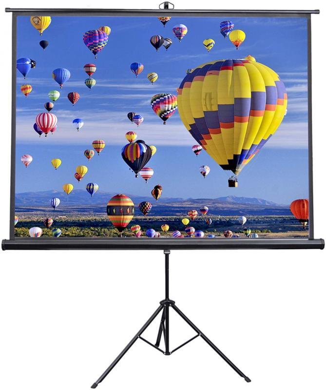 VIVO 84 inch Portable Indoor Outdoor Projector Screen, 84 Pr