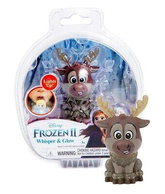 Disney Frozen II Whisper & Glow Figure Sven Reindeer New in Package